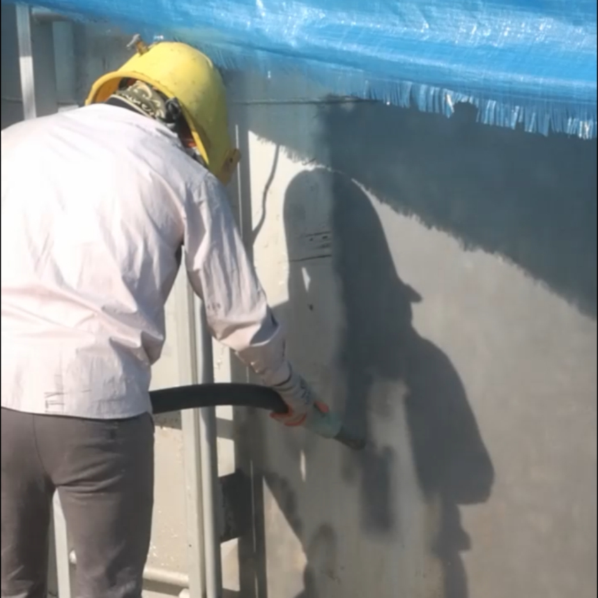 نماشویی ساختمان باطناب سند بلاست خشک و تر